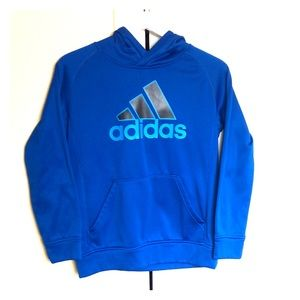 Like New!  Boys Adidas Fleece Lined Hoodie